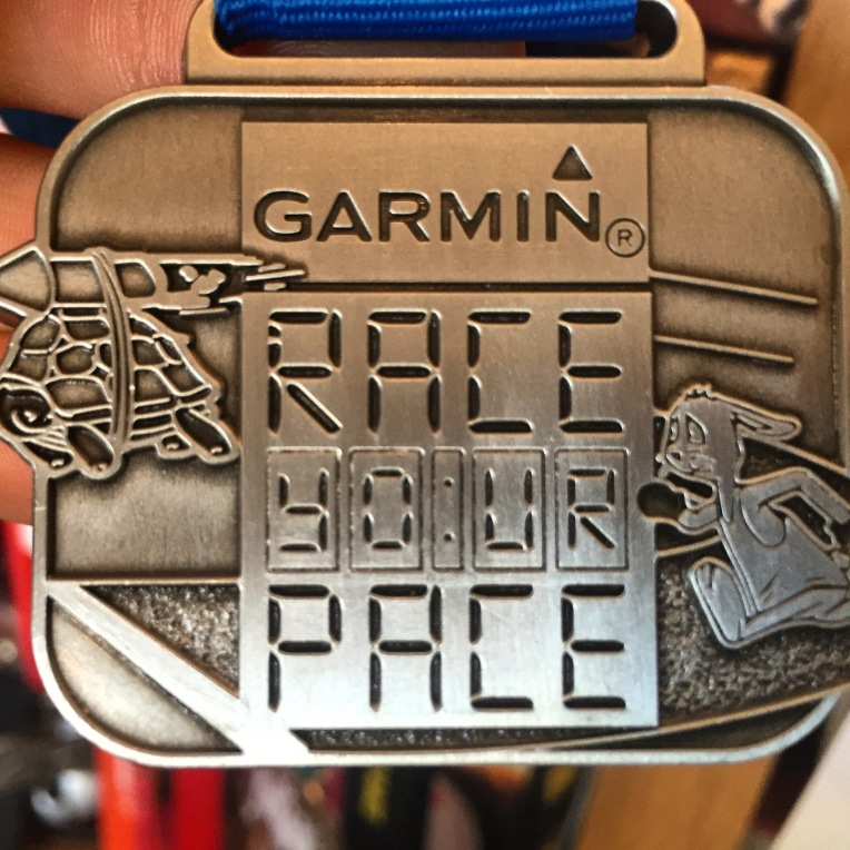 Garmin Race Your Pace Medal