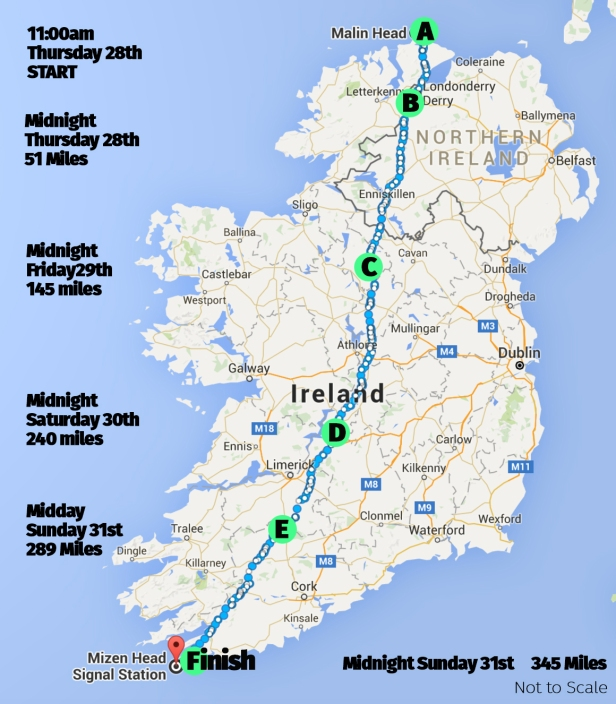 Map for Ireland Website