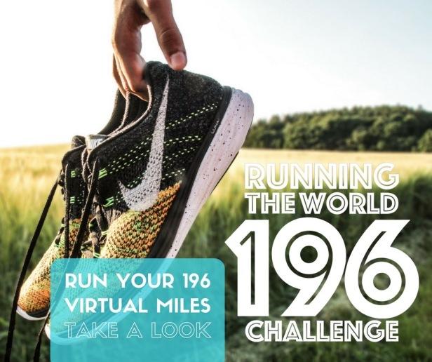 RUN YOUR 196 MILES